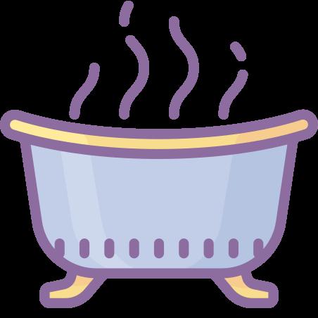 Spa icon in Cute Color