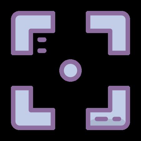 Confine quadrato icon