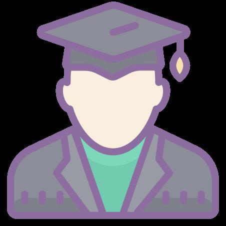 학생 남자 icon