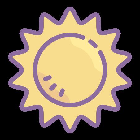 Summer icon in Cute Color