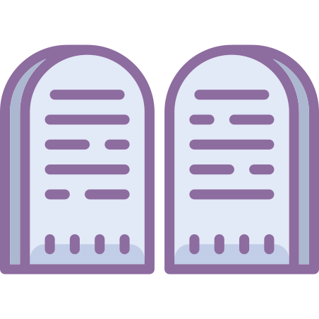 Tablets Of Stone icon in Cute Color