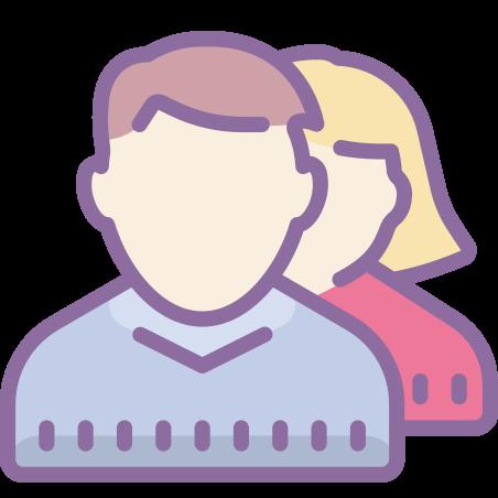 Team icon in Cute Color
