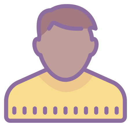 User Male Skin Type 6 icon
