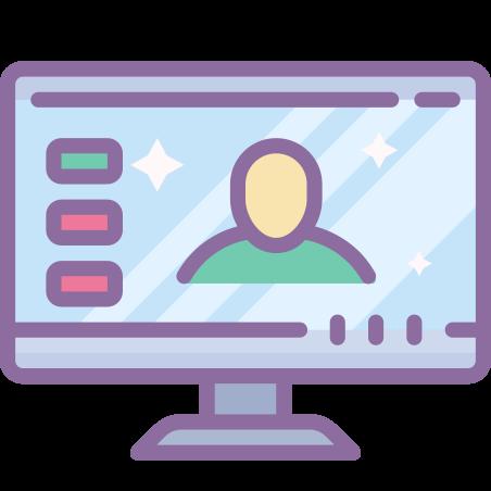 화상 회의 icon