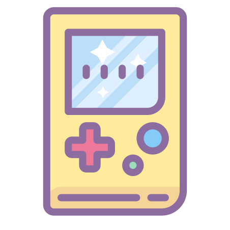 Game Boy visuelle icon