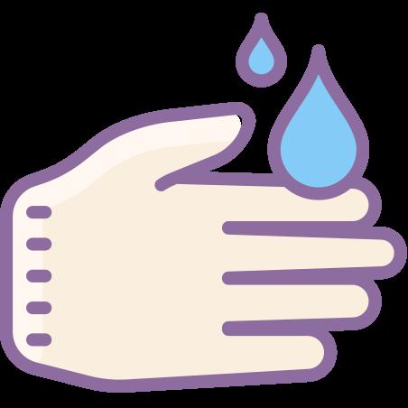 손을 씻으십시오 icon