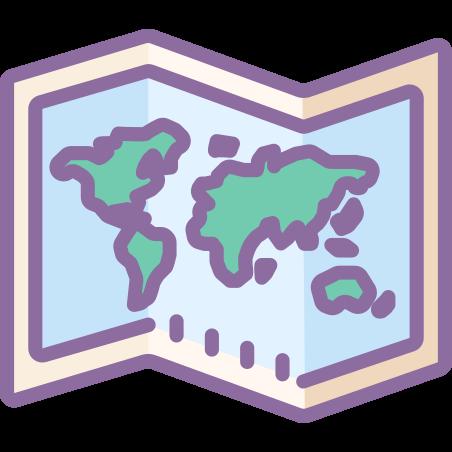 世界地図 icon