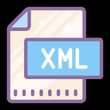 XML File icon in Cute Color