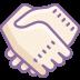 Uścisk dłoni icon