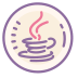 Logo Java Coffee Cup icon