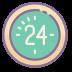 Ostatnie 24 godziny icon