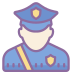 Policjant Mężczyzna icon