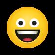 emoji grinning-face-emoji icon