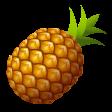 emoji pineapple-emoji icon