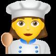 emoji woman-cook icon