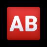 AB Button (Blood Type) icon