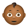 Baby Medium Dark Skin Tone icon