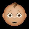 Baby Medium Skin Tone icon