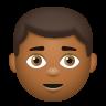 Boy Medium Dark Skin Tone icon