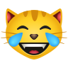 Cat With Tears Of Joy icon