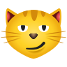 Cat With Wry Smile icon