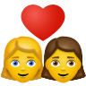 Couple With Heart Woman Woman icon