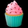 Cupcake Emoji icon
