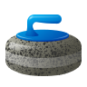 Curling Stone Emoji icon
