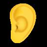 Ear Emoji icon