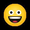 grinning face-emoji icon