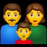 Family  Man Woman Boy icon