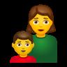 Family  Woman Boy icon