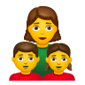 Family  Woman Girl Boy icon