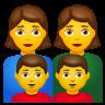 Family  Woman Woman Boy Boy icon