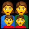 Family  Woman Woman Girl Boy icon