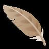 Feather Emoji icon