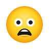Frowning Face With Open Mouth icon
