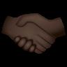 Handshake Dark Skin Tone icon