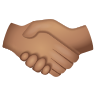 Handshake Medium Skin Tone icon