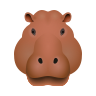 Hippopotamus icon