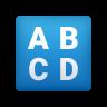 Input Latin Uppercase icon