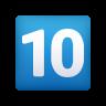 Keycap: 10 icon
