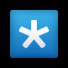 Keycap Asterisk icon