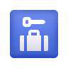 Left Luggage icon