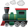 Locomotive Emoji icon