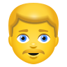Man Blond Hair icon