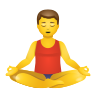 Man In Lotus Position icon