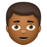 Man Medium Dark Skin Tone icon