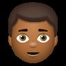 Man Medium Dark Skin Tone icon