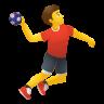 Man Playing Handball icon